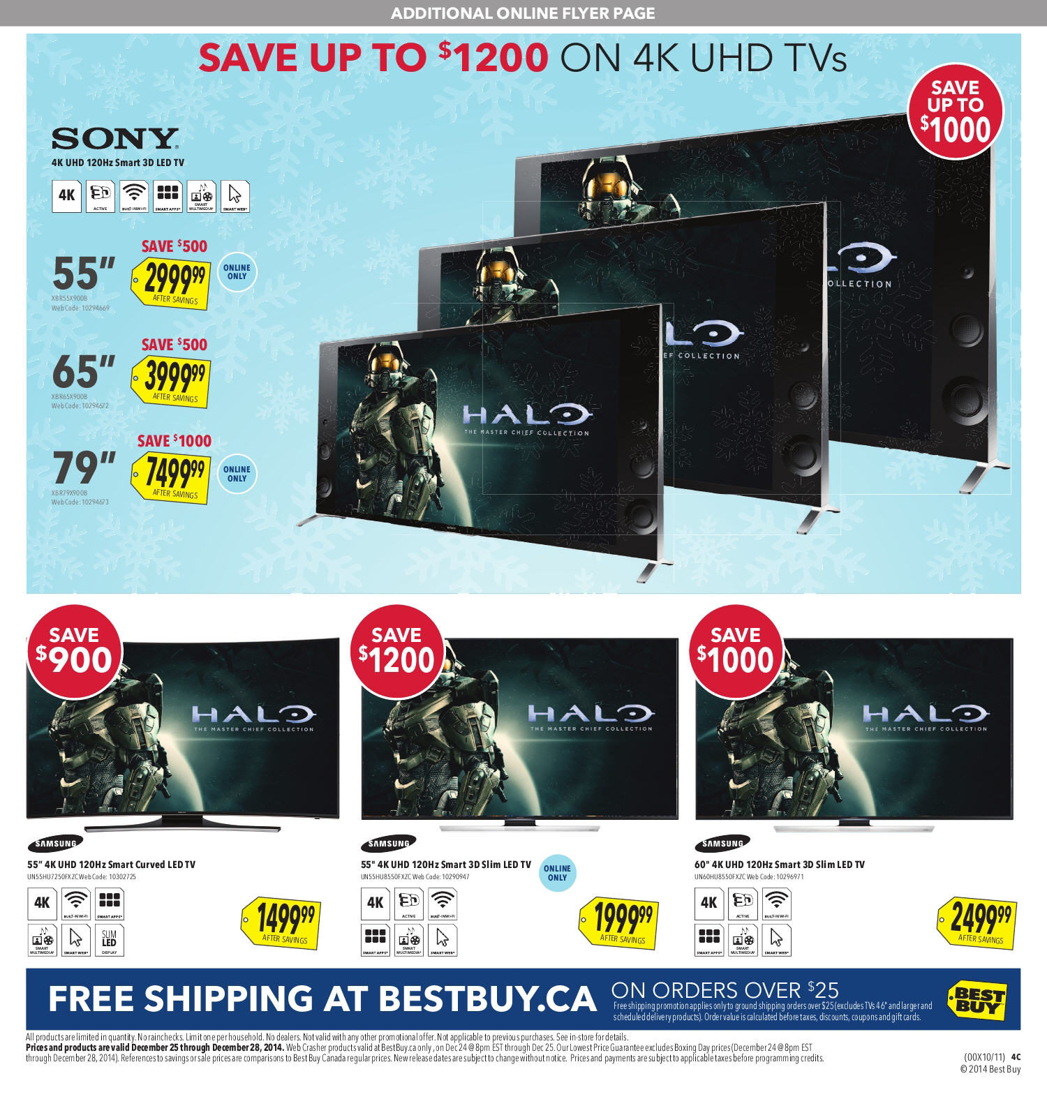 tv on sale at best buy. best buy weekly flyer - boxing day sale dec 24 \u2013 28 redflagdeals.com tv on at