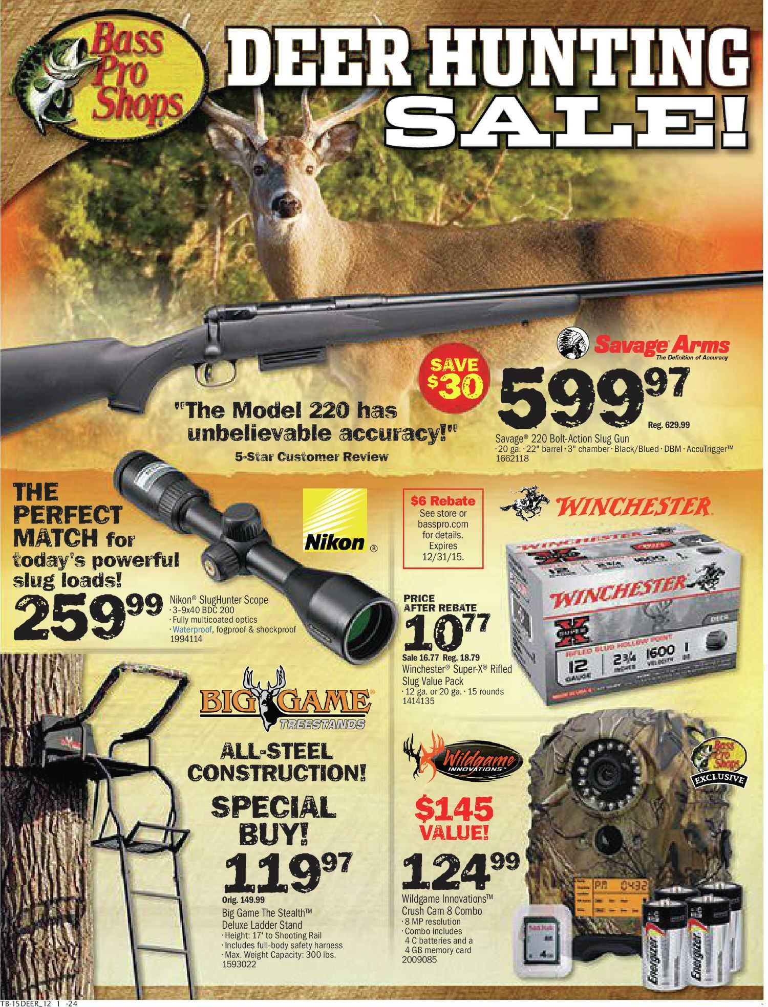 weekly redflagdeals box original pro blinds for oct com to flyers sale hunting sep shops bass flyer deer