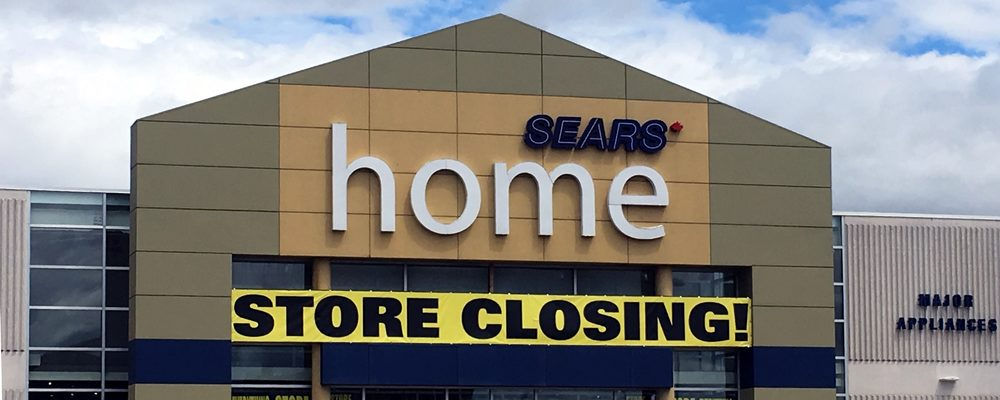 Sears Canada Finalizes Closure Dates for Nine Stores
