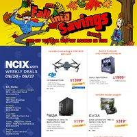 NCIX - Weekly Deals - Fall Into Savings Flyer