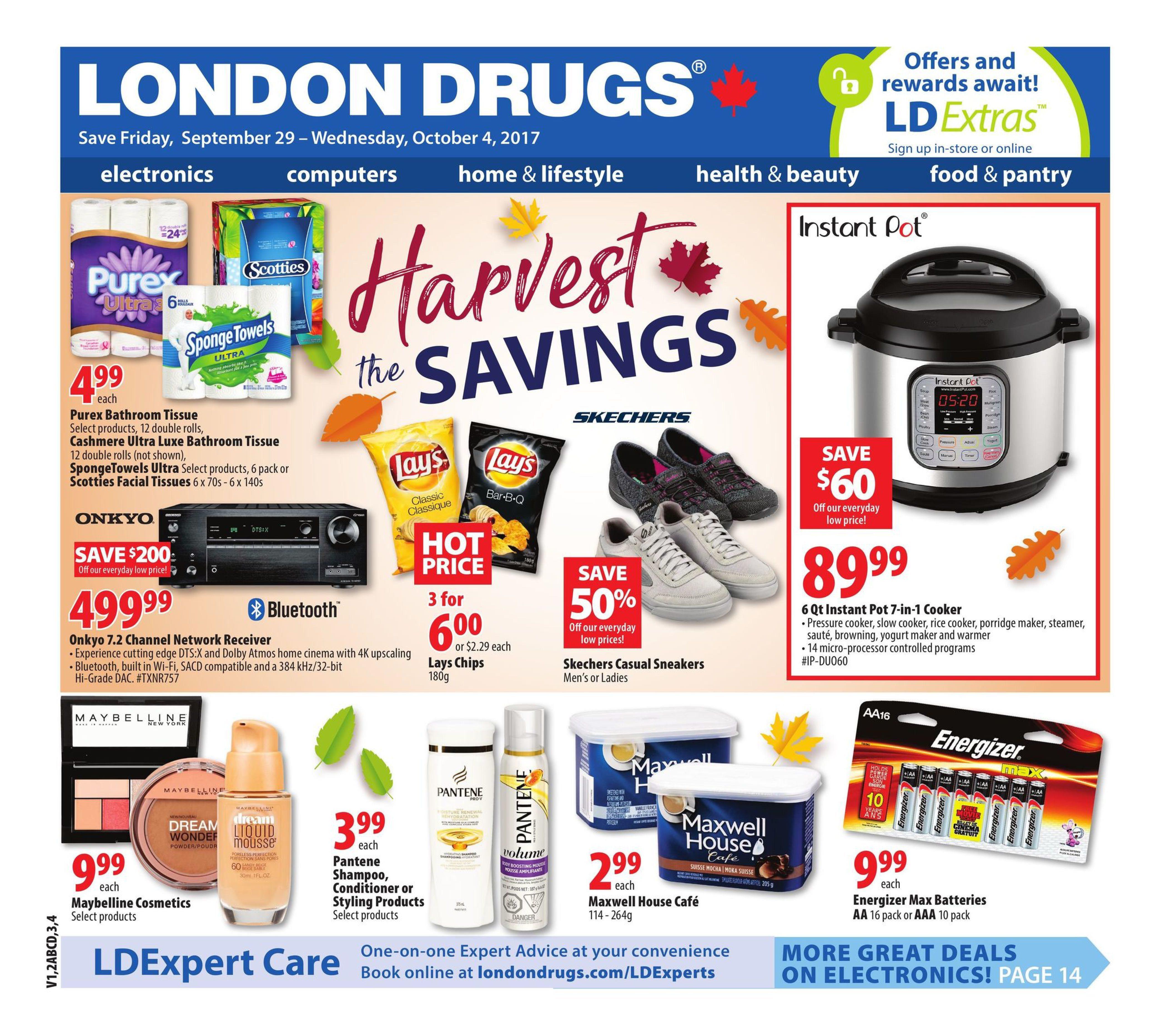 London Drugs Weekly Flyer General Harvest The Savings Sep 29 Fancy Feast Classic Wet Fish Tuna 85g 24 Pcs Free Flashdisk Oct 4