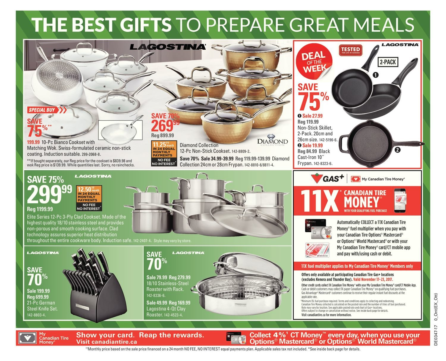Canadian Tire Weekly Flyer Celebrate With Joy Nov 17 Philips Rice Cooker Hd 3118 32 23