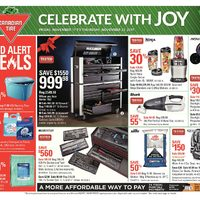 Canadian Tire - Weekly - Celebrate with Joy Flyer