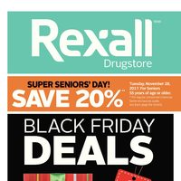 Rexall - Black Friday Deals Flyer