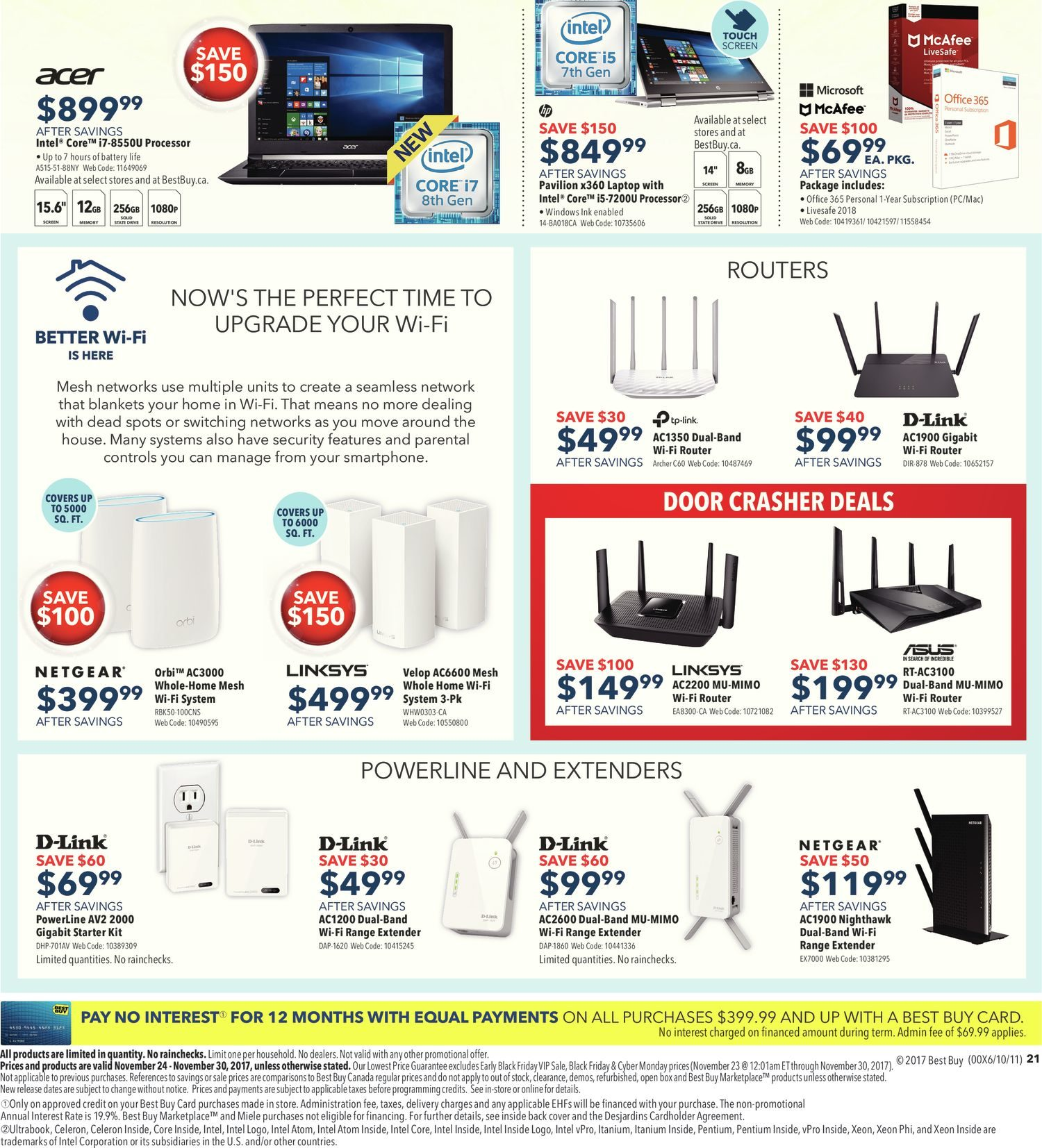 Best Buy Weekly Flyer Black Friday Sale Nov 24 30 Logitech Z506 Wiring Diagram