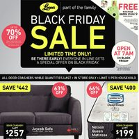 - Part of the Family - Black Friday Sale Flyer