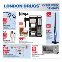 London Drugs - Cyber Week Savings Flyer