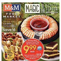 M & M Food Market - Weekly - Magic Of The Season Flyer