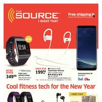 - 2 Weeks of Savings - Cool Fitness Tech for The New Year Flyer