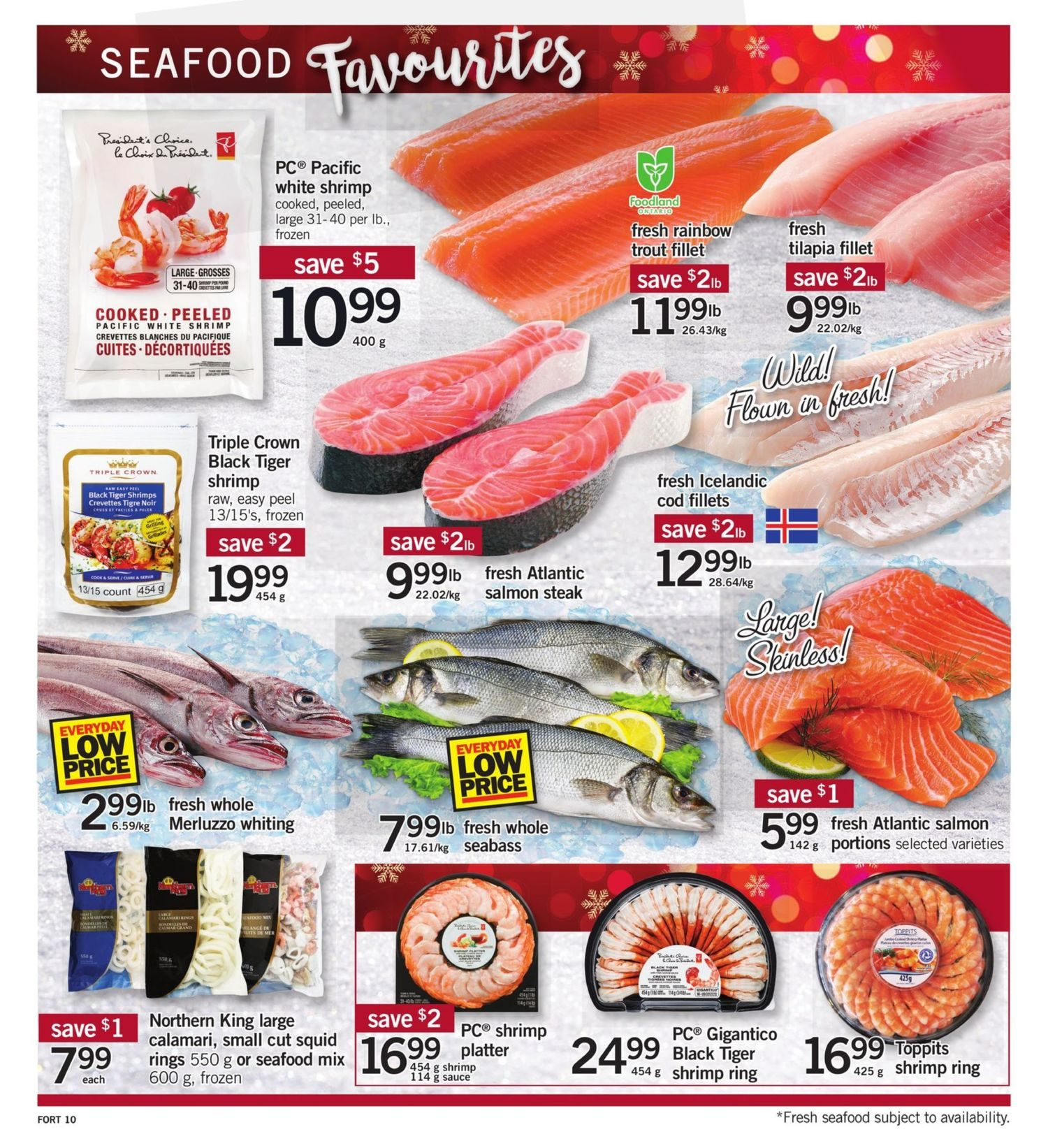 Fortinos Weekly Flyer Specials Dec 21 24 Fronte Smoked Beef 400 Gram