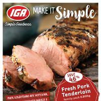 MarketPlace IGA - Weekly Specials - Make It Simple Flyer