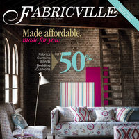 Fabricville - Made Affordable, Made For You! Flyer