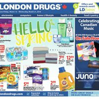London Drugs - 6 Days of Savings - Hello Spring Flyer