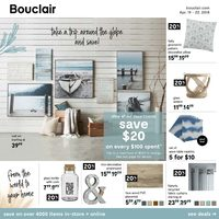 Bouclair - Weekend Deals Flyer
