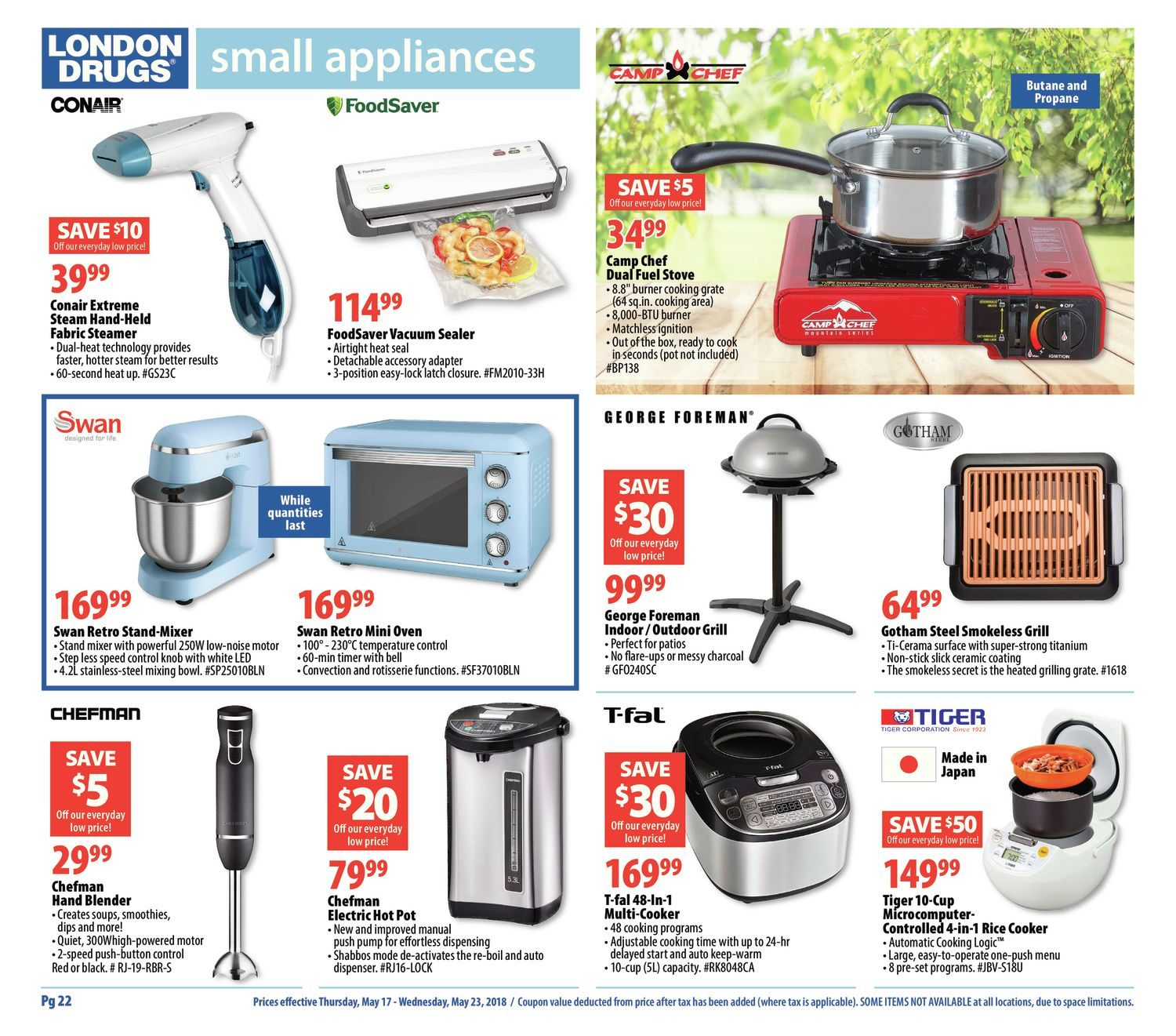 London Drugs Weekly Flyer Long Weekend Specials May 17 23 Hand Mixer Philips Hr 1530