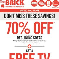 The Brick - Rooms For Less Flyer