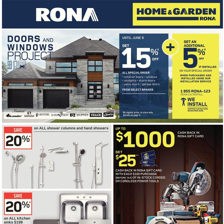 Rona Garage Doors