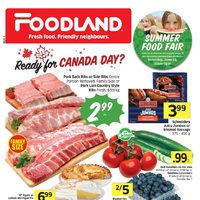 Foodland - Weekly - Ready For Canada Day Flyer