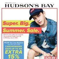 - Weekly - Super Big Summer Sale Flyer