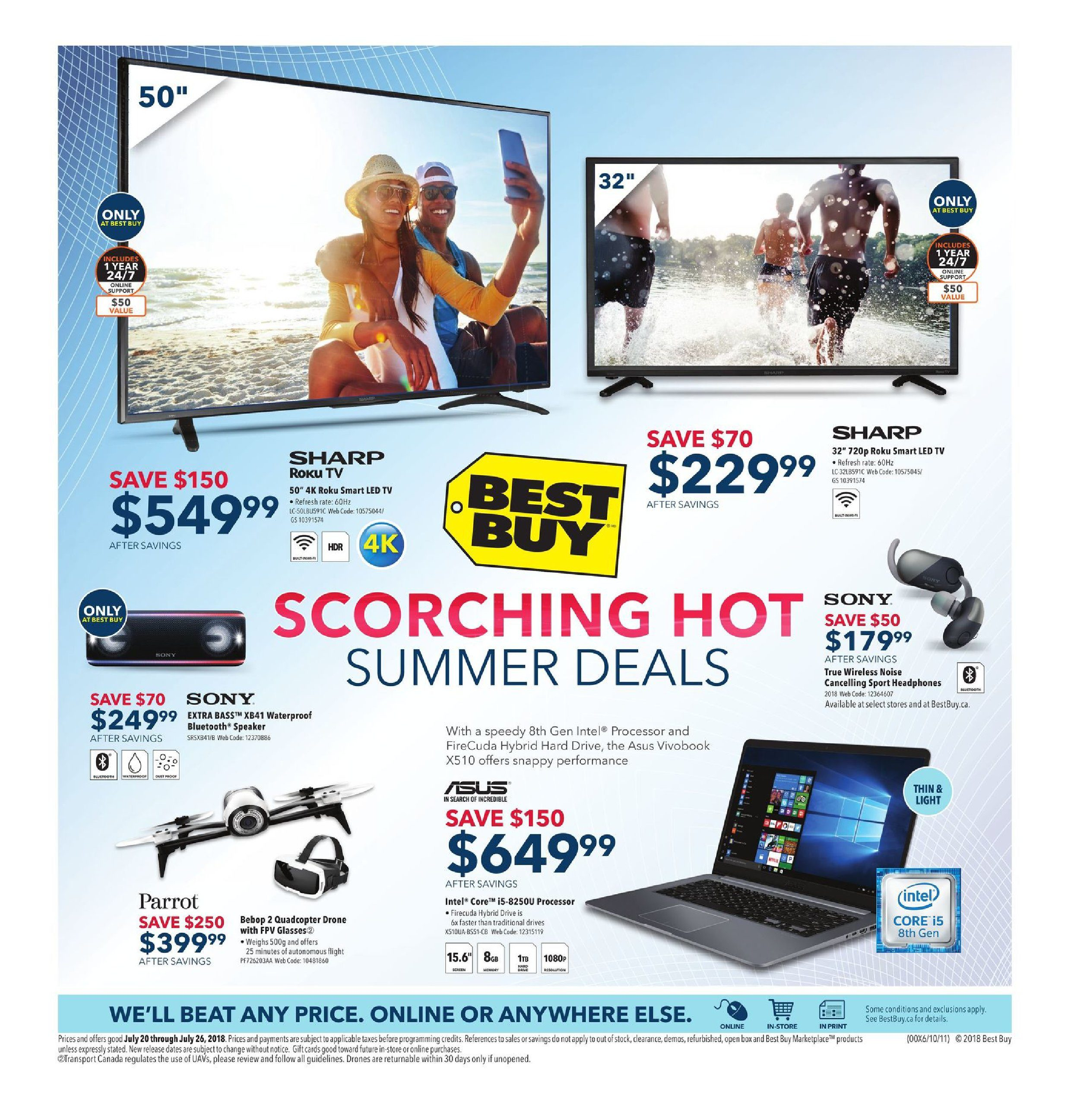 Best Buy Weekly Flyer Scorching Hot Summer Deals Jul 20 30 Amp Go Power Automatic Transfer Switch Ts30 Voltage Pro 26