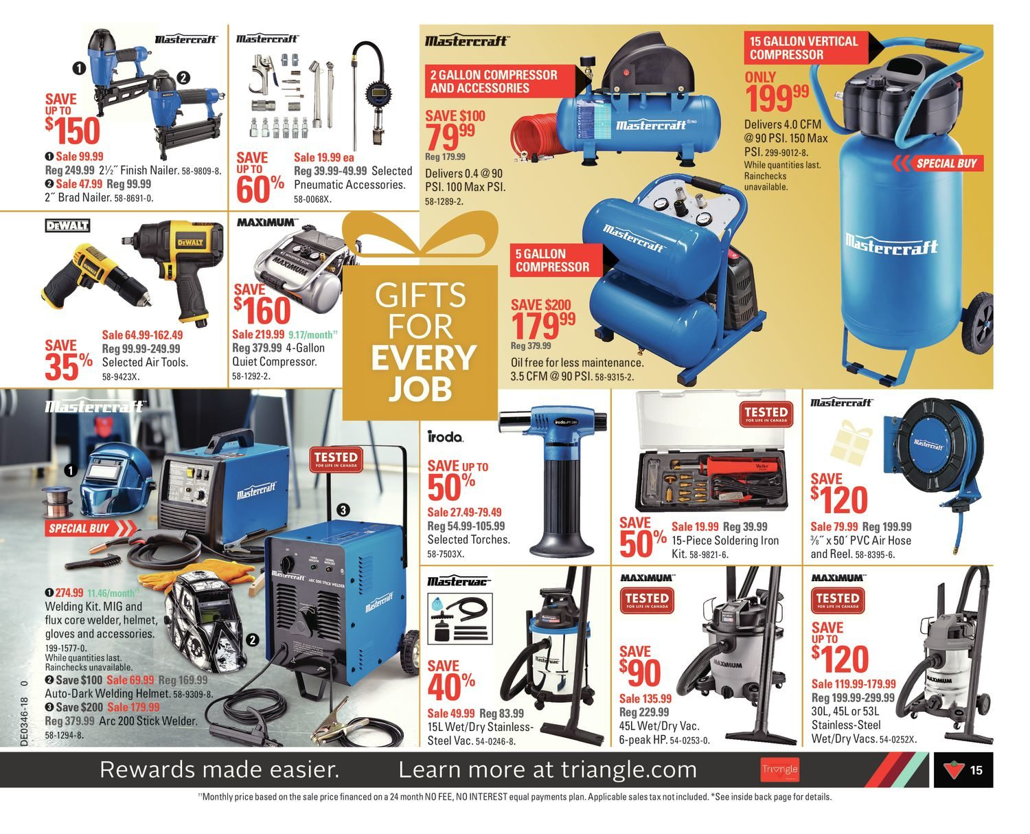 Canadian Tire Weekly Flyer - Weekly - Share The Joy! - Nov 9
