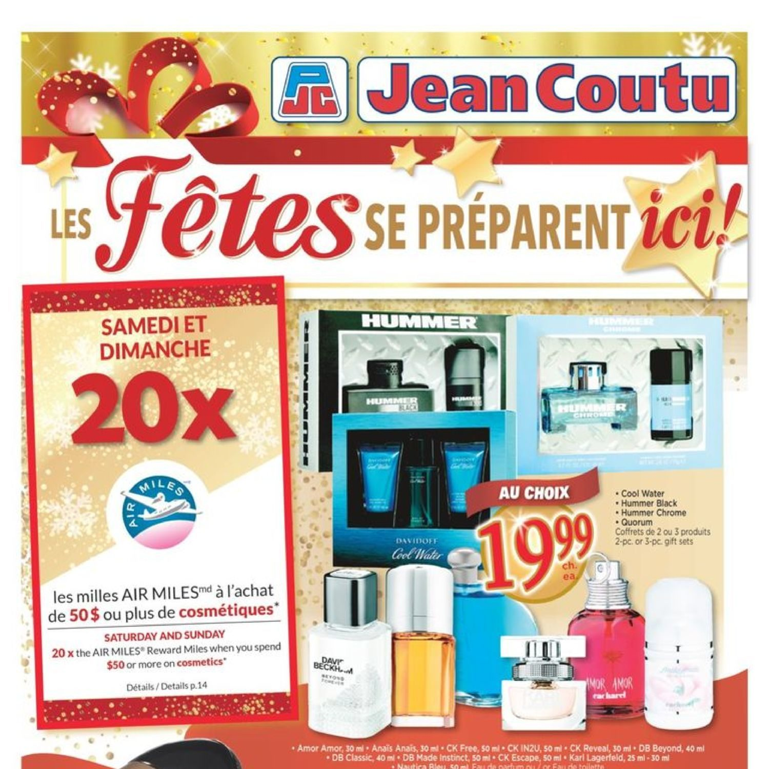 Jean Coutu Weekly Flyer Wrap Up The Holidays Nov 8 14