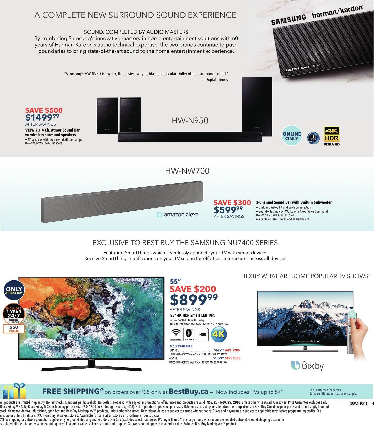 Best Buy Weekly Flyer Black Friday Sale Nov 23 29 Electrical Service To Detached Garage Page 3 Teamtalk
