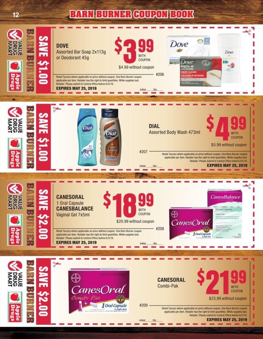 Value Drug Mart Weekly Flyer - Barn Burner Coupon Book - Apr