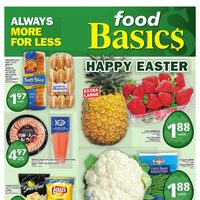 Foodbasics - Weekly - Happy Easter Flyer