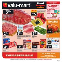 Valu-Mart - Weekly - The Easter Sale Flyer