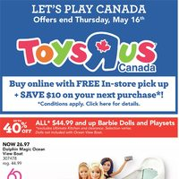 - Let's Play Canada Flyer