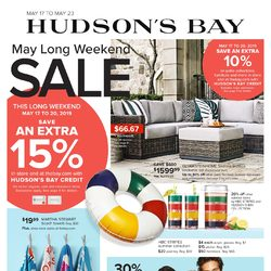 The Bay - Weekly - May Long Weekend Sale Flyer