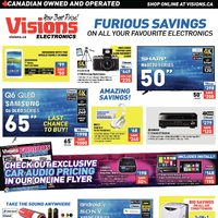 Visions Electronics - Weekly - Furious Savings Print Flyer