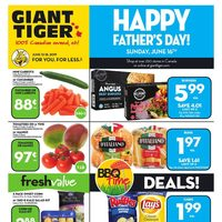 Giant Tiger - Weekly - Happy Father's Day! Flyer