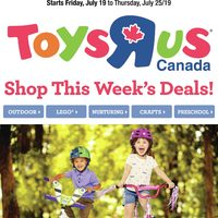 Toys R Us - Shop This Week's Deals! Flyer