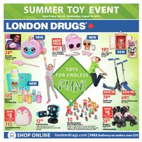 - Summer Toy Event Flyer