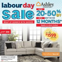 Ashley HomeStore - Labour Day Sale Flyer