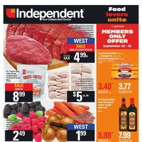 Your Independent Grocer - Weekly Specials Flyer