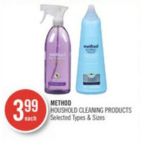 Method Houshold Cleaning Products