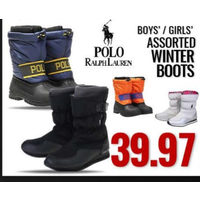 Polo Ralph Lauren Boys' / Girls' Winter Boots