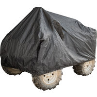 Power Fist Black Trailerable ATV Covers - 85L x 50W x 40H In.