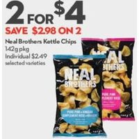 Neal Brothers Kettle Chips