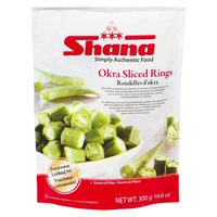 Shana Whole Okra, Rings Or Pigeon Peas