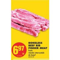 Boneless Beef Rib Finger Meat