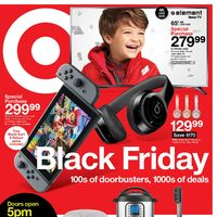 US Black Friday - Target US - Black Friday Sale Flyer