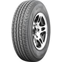 Gallant ST205/75R15 Black Alloy Trailer Tire