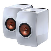 KEF LS50 Wireless Complete Fully Active Hi-Fi Music System