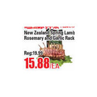 New Zealand Sprig Lamb Rosemary and Garlic Rack