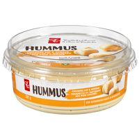 PC Blue Menu or PC Organics Hummus