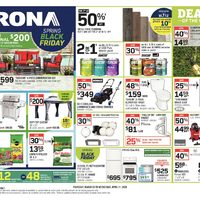 Rona - Weekly - Spring Black Friday Flyer